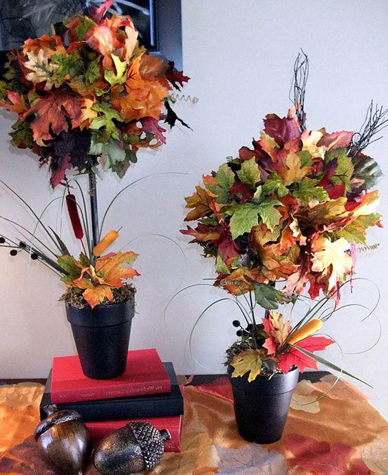 Осенний букет поделка   скачать бесплатно (27 картинок) (14)
