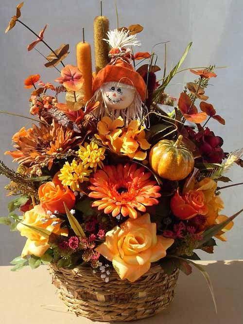 Осенний букет поделка   скачать бесплатно (27 картинок) (8)