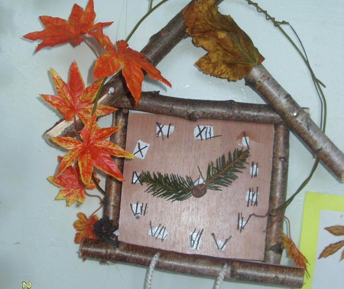 Поделки из природного материала на тему осень для детского сада 13