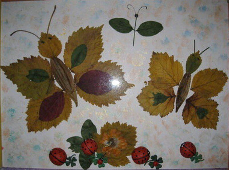 Поделки из природного материала на тему осень для детского сада 14