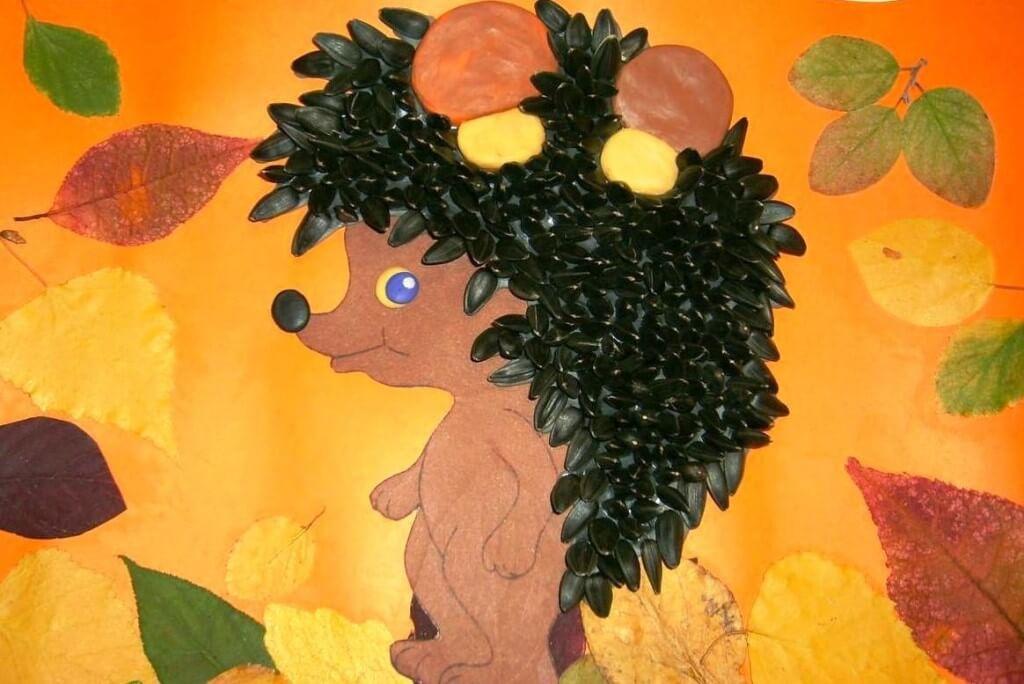 Поделки из природного материала на тему осень для детского сада 2