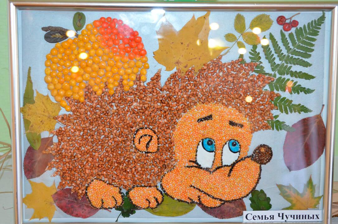 Поделки из природного материала на тему осень для детского сада 25