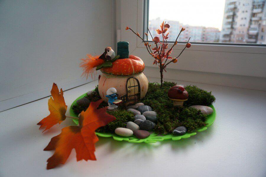 Поделки из природного материала на тему осень для детского сада 3