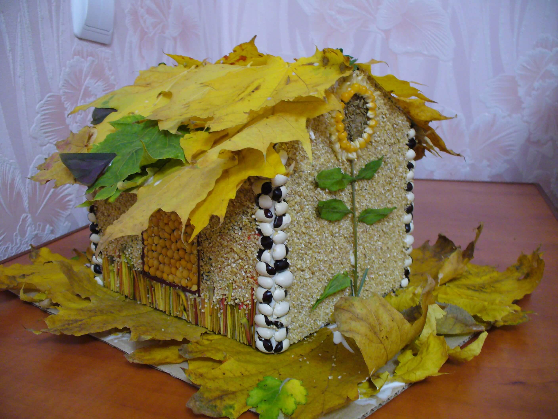 Поделки из природного материала на тему осень для детского сада 7