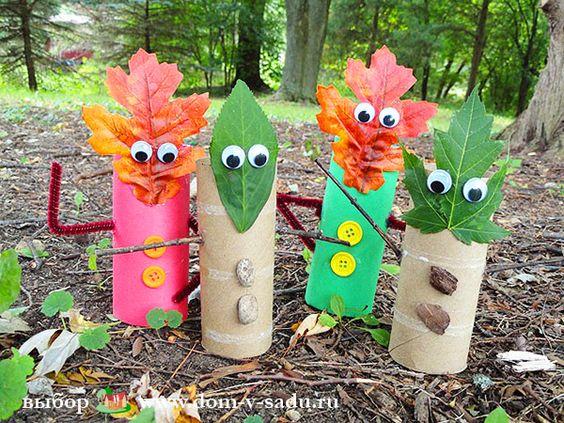 Поделки своими руками на тему осень в детский сад фото   30 штук (13)