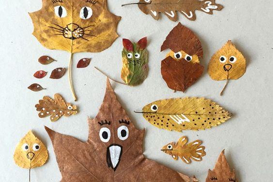 Поделки своими руками на тему осень в детский сад фото   30 штук (16)