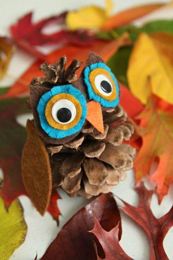 Поделки своими руками на тему осень в детский сад фото   30 штук (17)