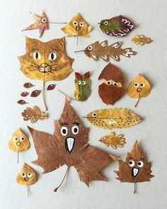 Поделки своими руками на тему осень в детский сад фото   30 штук (18)