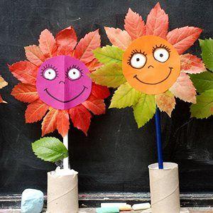 Поделки своими руками на тему осень в детский сад фото   30 штук (21)