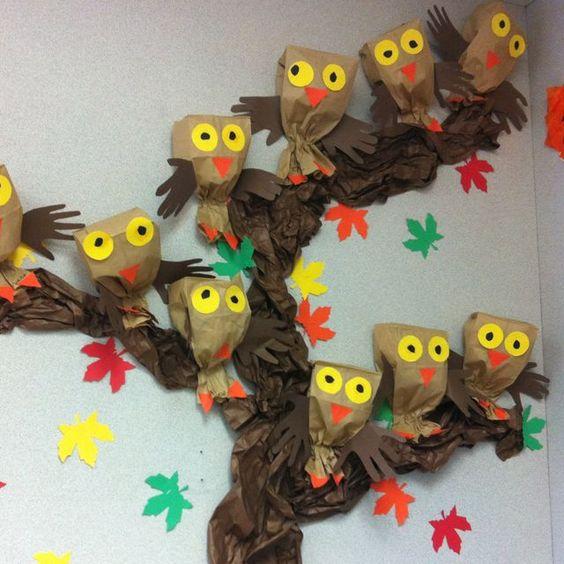 Поделки своими руками на тему осень в детский сад фото   30 штук (27)