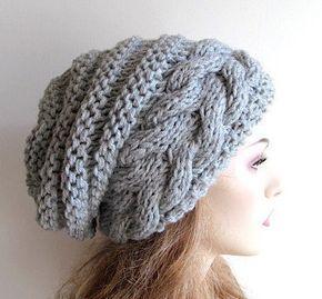 Связать шапку спицами для женщины новые модели 2019 схемы   подборка 22 штуки (10)