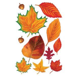 Шаблоны осенних листьев для вырезания из бумаги   подборка (18 картинок) (16)