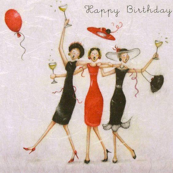 Бесплатные открытки для подруги с Днем Рождения коллекция открыток (10)