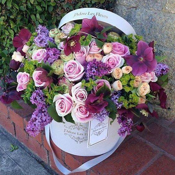Букеты цветов с днем рождения фото красивые   милая сборка (19 картинок) (2)