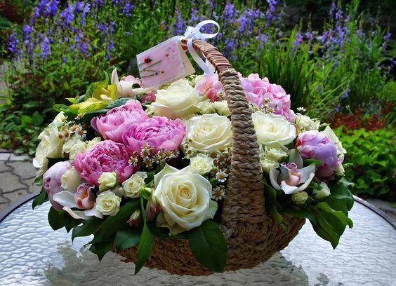 Букеты цветов с днем рождения фото красивые   милая сборка (19 картинок) (4)