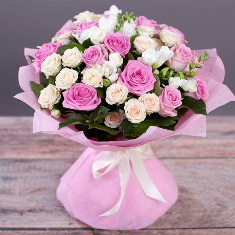 Букеты цветов с днем рождения фото красивые   милая сборка (19 картинок) (7)