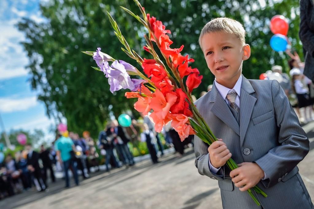 Букет для мальчика на 1 сентября   фото и картинки (24)