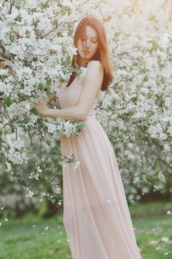 Весна красивые фотосессии для девушек подборка фото (1)