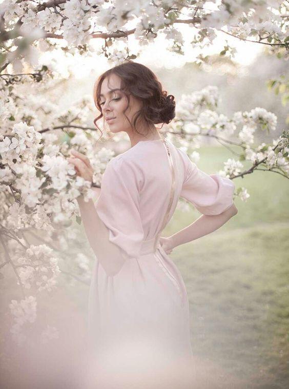 Весна красивые фотосессии для девушек подборка фото (15)
