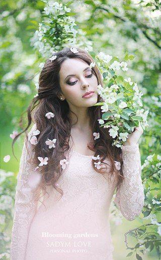 Весна красивые фотосессии для девушек подборка фото (17)