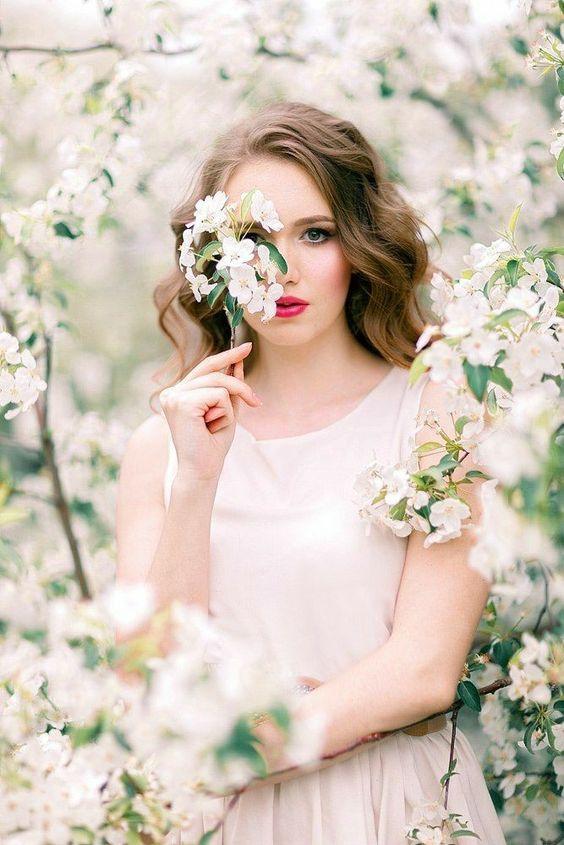 Весна красивые фотосессии для девушек подборка фото (4)