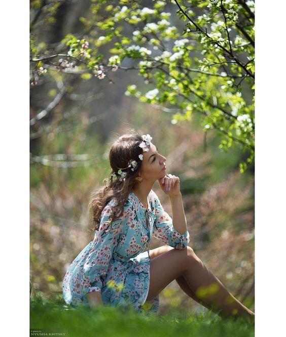 Весна красивые фотосессии для девушек подборка фото (8)