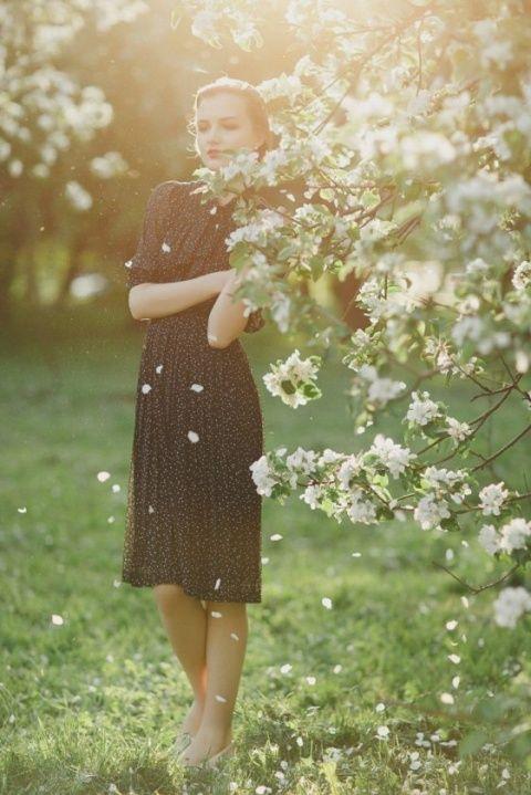 Весна красивые фотосессии для девушек подборка фото (9)