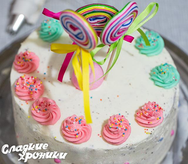 Вкусный торт на День Рождения парню своими руками фото (3)