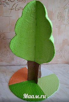 Времена года дерево   красивые поделки и рисунки для детей (19)