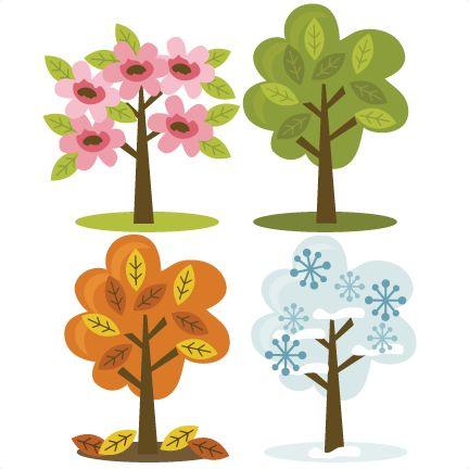 Времена года дерево   красивые поделки и рисунки для детей (8)