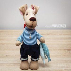 Выкройка тильда собака   добрые (22 картинки) (20)