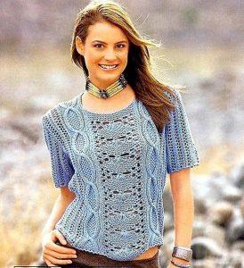 Вязание на спицах кофты супер модно и просто   подборка (18 картинок) (4)
