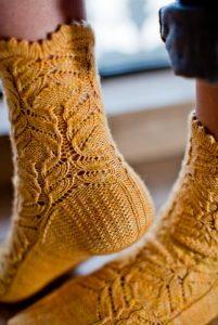 Вязание носков спицами красивые узоры   скачать бесплатно (17 картинок) (7)