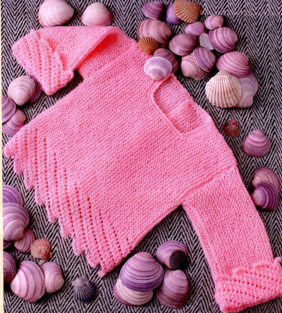 Вязание спицами для детей от 0 до 1 года   милая подборка (21 картинка) (1)