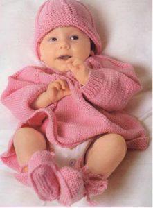 Вязание спицами для детей от 0 до 1 года   милая подборка (21 картинка) (20)