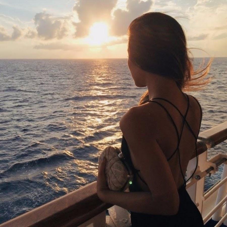 Девушка на море фотографии на аву без лица (21)