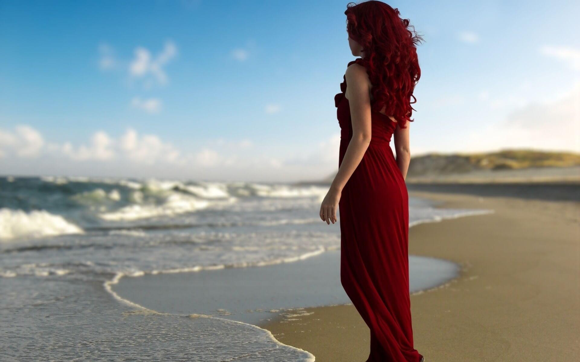 Девушка на море фотографии на аву без лица (22)