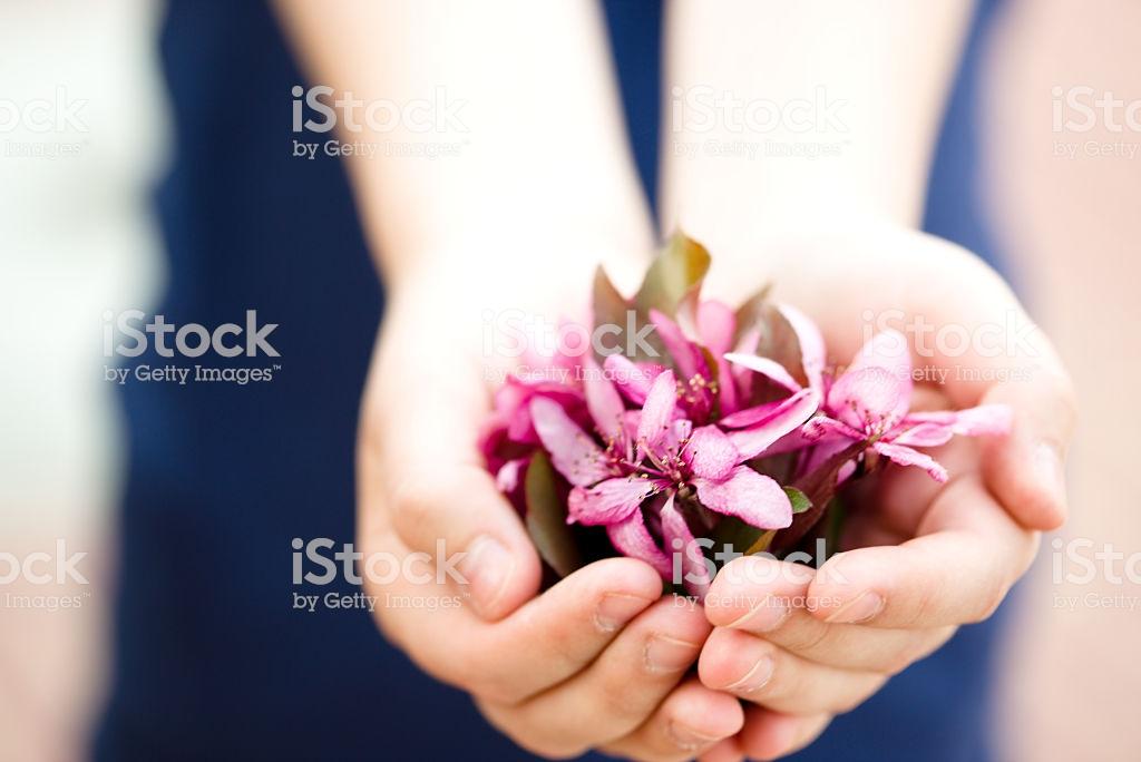 Девушка с букетом цветов в руках   красивые фото и картинки (7)