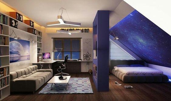 Дизайн комнаты для подростка девочки   крутые фото (18 картинок) (11)