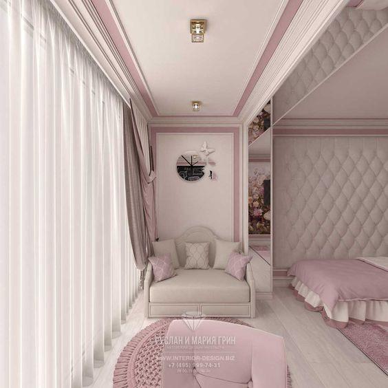 Дизайн комнаты для подростка девочки   крутые фото (18 картинок) (17)