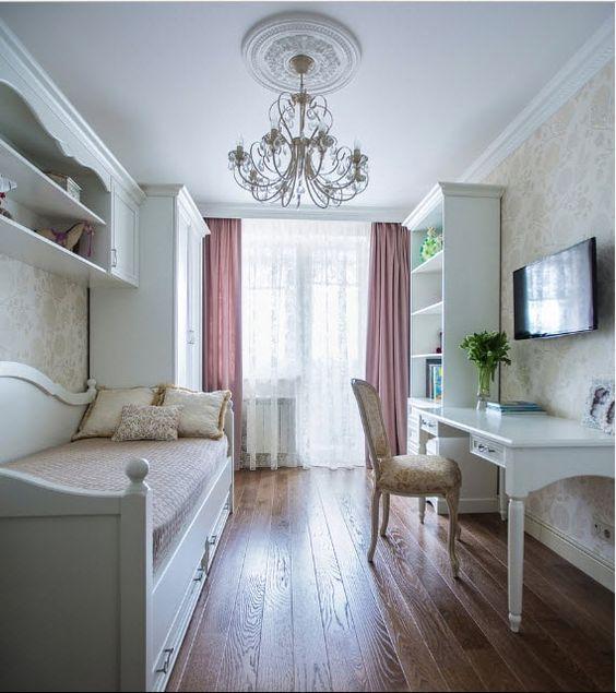 Дизайн комнаты для подростка девочки   крутые фото (18 картинок) (2)