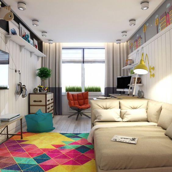 Дизайн комнаты для подростка девочки   крутые фото (18 картинок) (4)