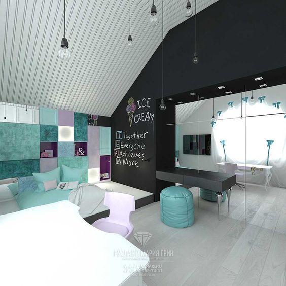 Дизайн комнаты для подростка девочки   крутые фото (18 картинок) (7)