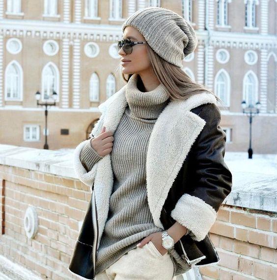Женское осеннее пальто 2019 фото   коллекция (29 картинок) (11)