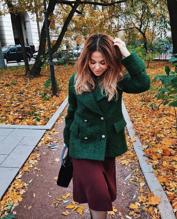 Женское осеннее пальто 2019 фото   коллекция (29 картинок) (17)