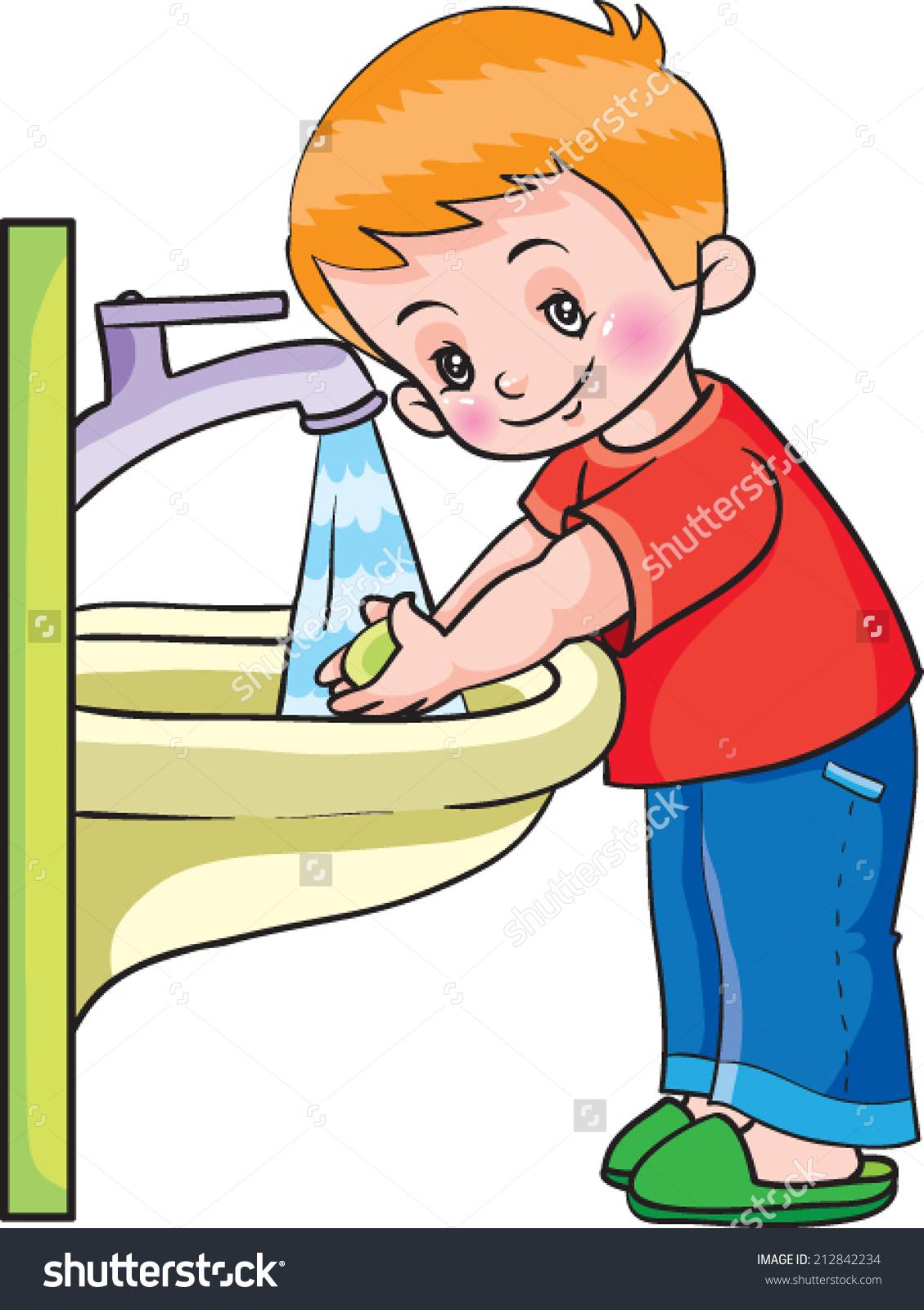 Как мыть руки для детей в картинках   подборка рисунков (18)