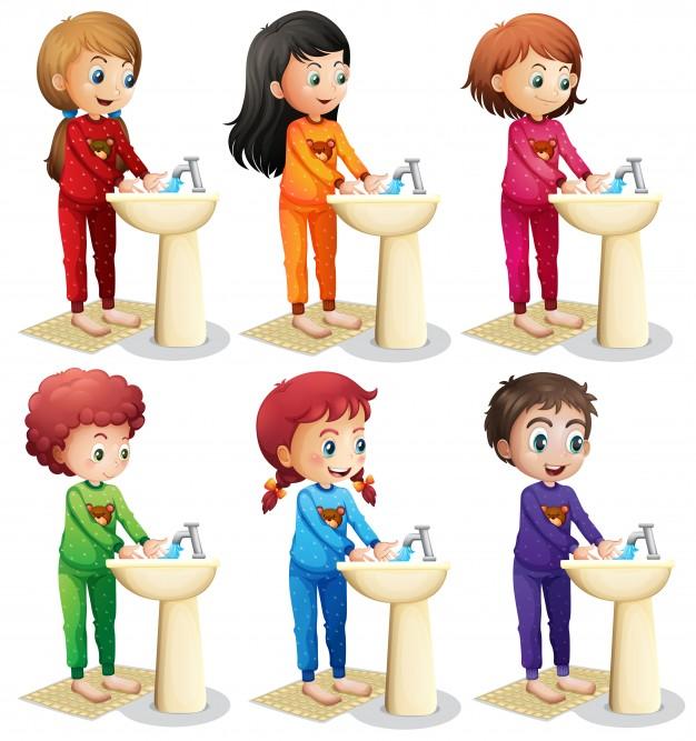 Как мыть руки для детей в картинках   подборка рисунков (23)