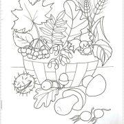 Как нарисовать осенний букет из листьев поэтапно   подборка картинок (11)
