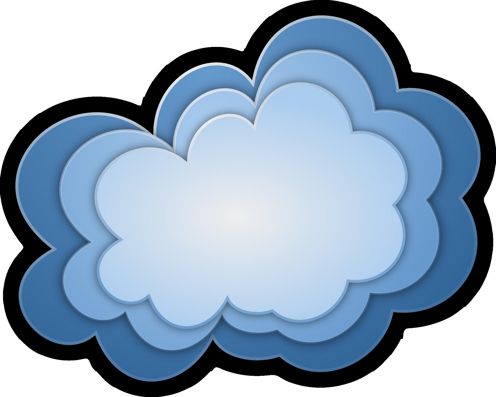 Поздравления, картинка облака для фотошопа