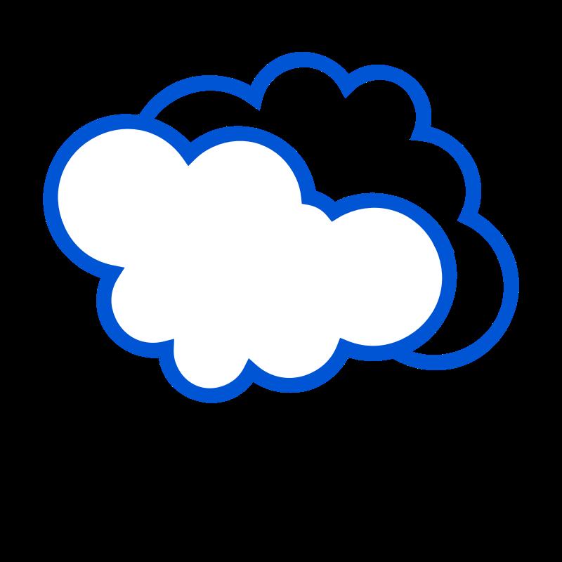 Картинки с облаком для детей